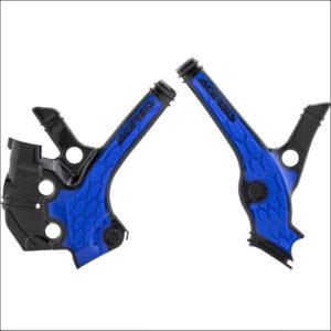 AcerbisX-Grip Frame GuardsYZ65 18-19 BLU
