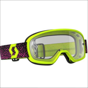Scott Buzz Mx Pro Yellow/pink Clear