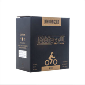 Motocell Lithium Gold Battery MLG8