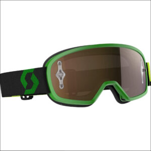 Goggle Buzz MX pro green/black chrm lens