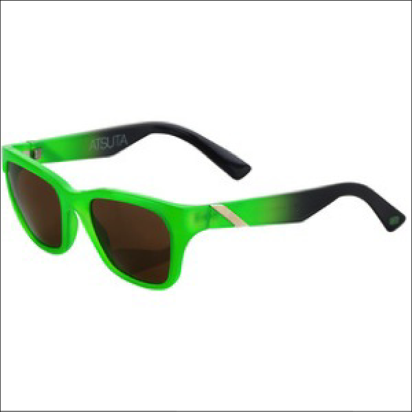 100% ATSUTA sunglasses Neon green