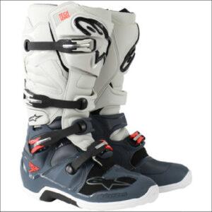 Alpinestar Tech 7 Grey/White/Red 10
