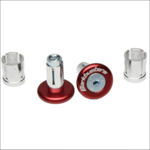 Bark Buster handle bar ends Red