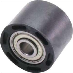 CHAIN ROLLER Lrg 42mm black