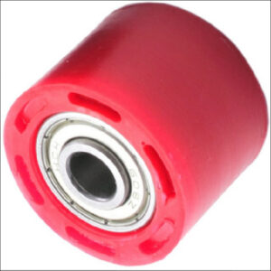 DRC Chain Roller Red W/Bearing-42mm