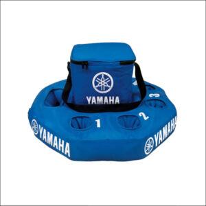 Yamaha Inflatable floating cooler blue
