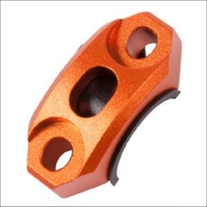 Zeta Roating Bar Clamp Orange