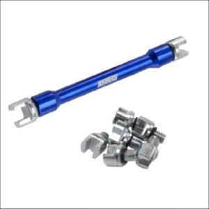 DRC Spoke Wrench pro blue large