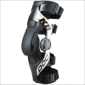 Pod k8 2.0 Knee Brace Left Carb/Sliv Lg