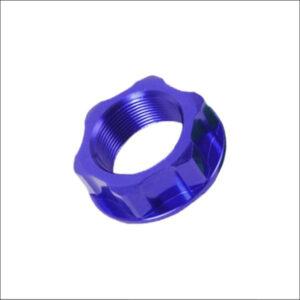 Zeta Stem Nut BLUE M24 x 1