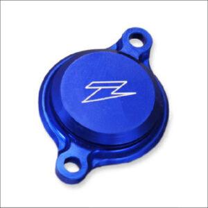 Zeta oil filter cover blue